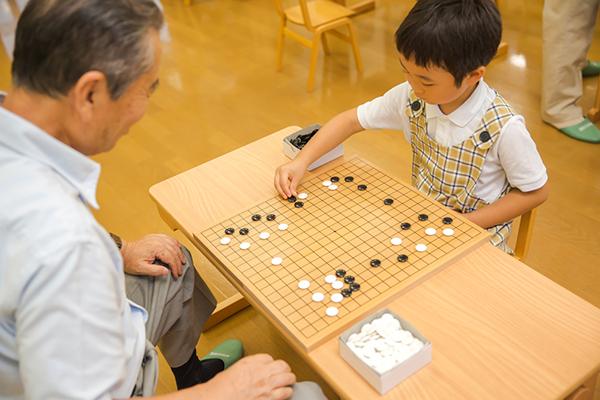 東峰保育園 囲碁教室
