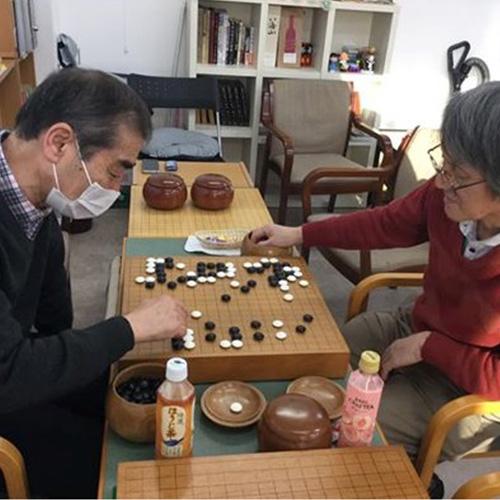 江戸川橋囲碁サロン 盤友